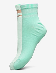 PUMA SHORT SOCK STRUCTURE 2P WOMEN - socks - mint combo