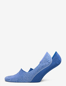 PUMA FOOTIE 2P UNISEX - nilkkasukat - blue combo