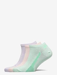 PUMA UNISEX LIFESTYLE SNEAKERS 3P - regular socks - mixed colors