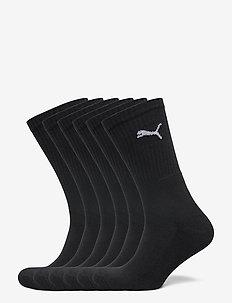 PUMA CREW SOCK 6P - chaussettes régulières - black