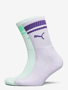 PUMA CREW HERITAGE STRIPE 2P UNISEX - regular socks - mixed colors