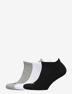 PUMA UNISEX SNEAKER PLAIN 3P - knöchelsocken - grey/white/black