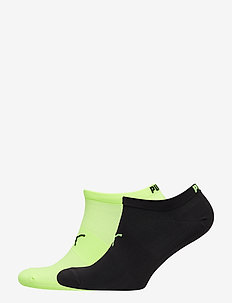 PUMA PERFORMANCE TRAIN LIGHT SNEAKE - ankle socks - black / grey / yellow