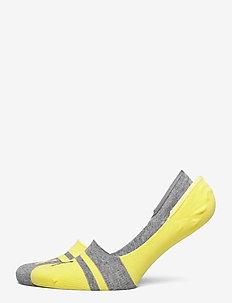 PUMA HERITAGE FOOTIE 2P UNISEX - nilkkasukat - yellow