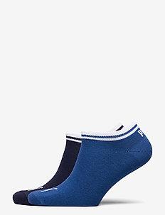 PUMA HERITAGE SNEAKER 2P - ankle socks - blue combo