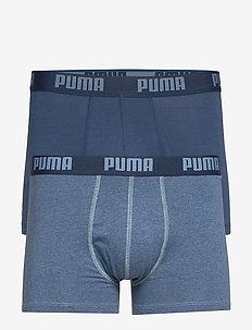 PUMA BASIC BOXER 2P - ondergoed - denim