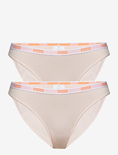 PUMA ICONIC BIKINI 2P - majtki - light pink