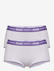 PUMA ICONIC MINI SHORT 2P - bokserki & szorty - purple combo