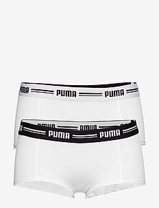 PUMA ICONIC MINI SHORT 2P - WHITE / WHITE