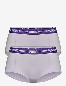 PUMA ICONIC MINI SHORT 2P HANG - broekjes - purple combo