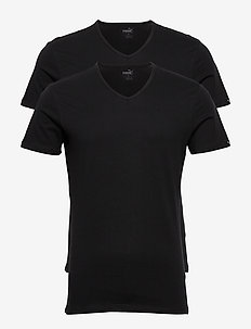 PUMA BASIC 2P V-NECK - pyjamas - black