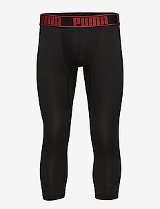 PUMA ACTIVE 3/4 TIGHTS BOXER 1P - BLACK/RED