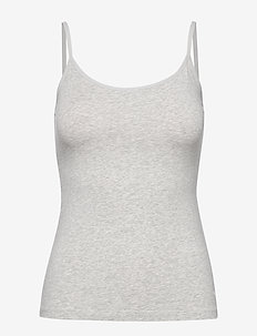 PUMA ICONIC CAMISOLE 1P HANG - tops - grey melange