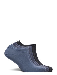 PUMA UNISEX SNEAKER PLAIN 6P ECOM - ankelstrumpor - blue combo