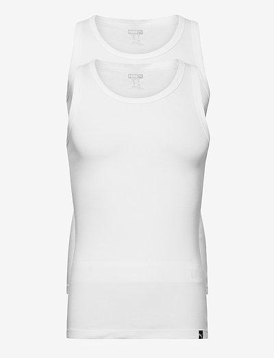 PUMA BASIC 2P TANK TOP - topjes - white