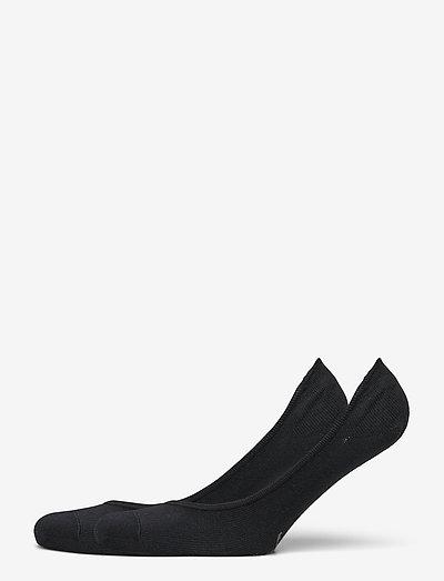 PUMA WOMEN FOOTIE 2P - ankelstrumpor - black