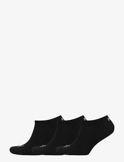 PUMA UNISEX SNEAKER PLAIN 3P - kousen - black