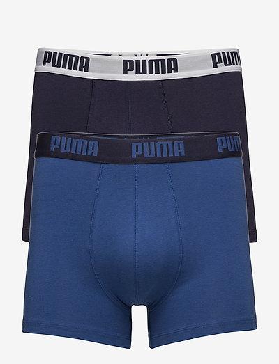 PUMA BASIC BOXER 2P - boxerkalsonger - true blue