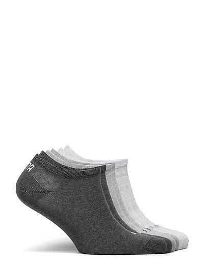 PUMA UNISEX SNEAKER PLAIN 6P ECOM - ankelstrumpor - grey combo