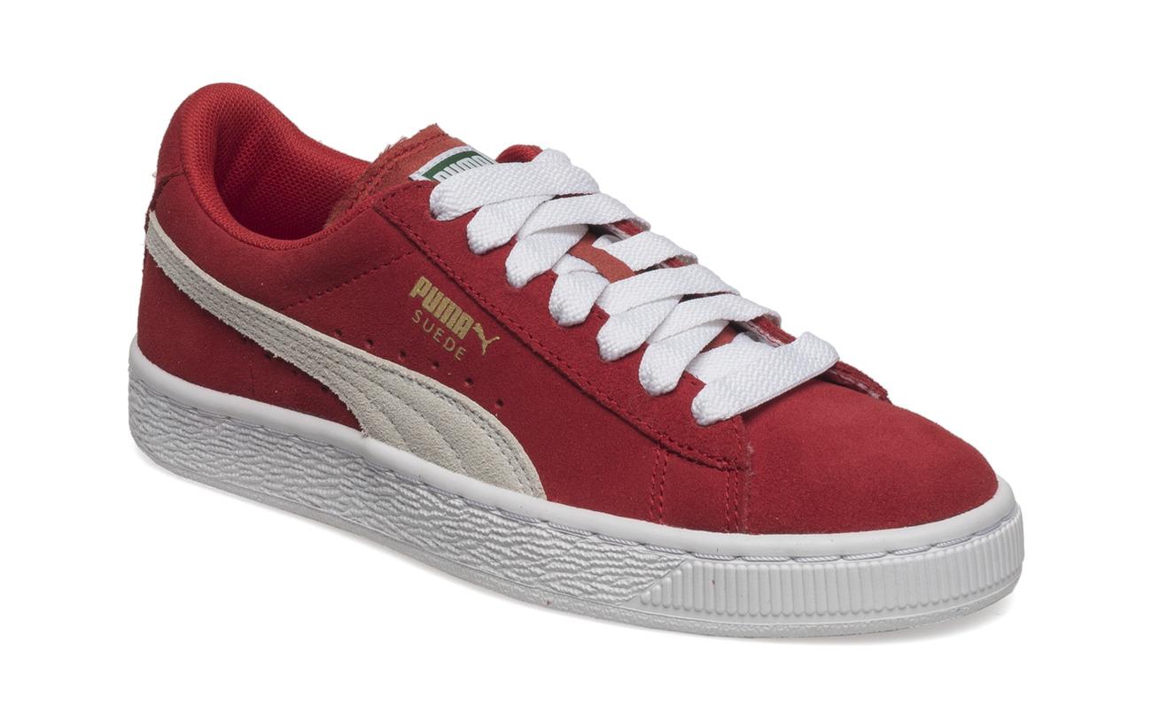 PUMA Suede Jr (High Risk Red-white