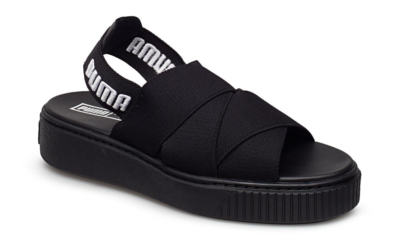 dc0998c71613 Puma Platform Sandal Wn s (Puma Black-puma Black) (£55.30) - PUMA ...