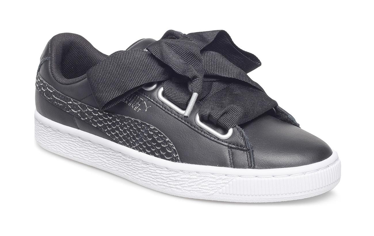 ea4d2e8c20 Basket Heart Oceanaire Wn s (Puma Black-puma White) (£64.35) - PUMA ...