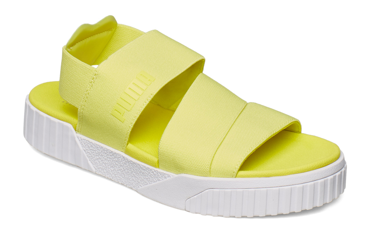 PUMA Cali Sandal X Sg (Soft Fluo Yellow