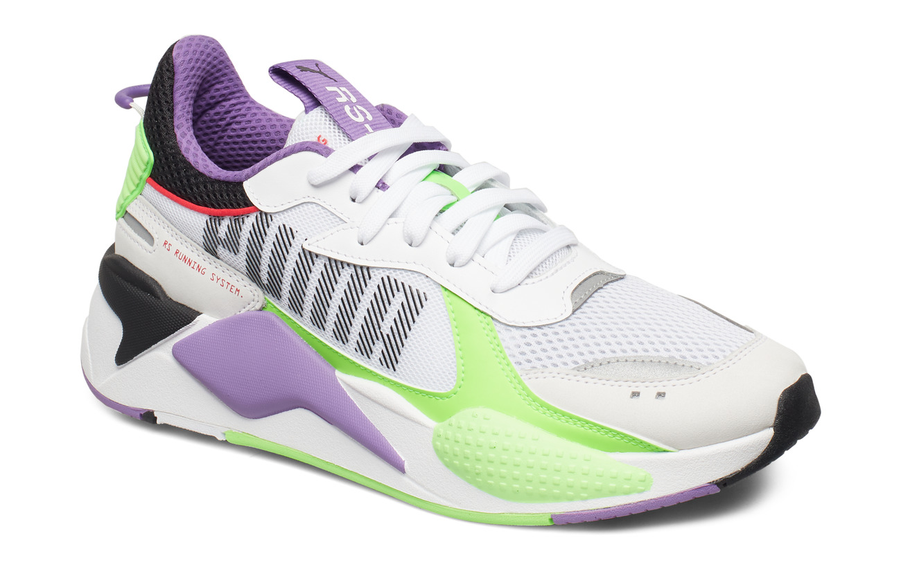 PUMA RS-X Bold - PUMA WHITE-GREEN GECKO-ROYAL LILAC