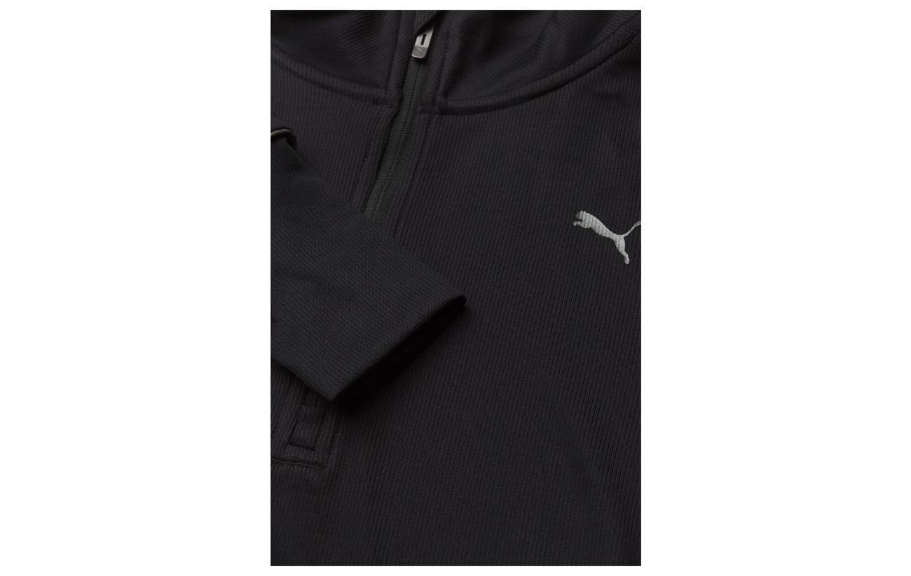 Ignite 96 Top Équipement Puma W Zip 2 Elastane 4 1 Black Polyester 86wdaq