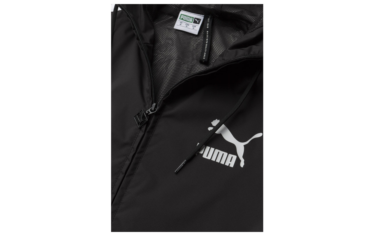 Classics Classics Black Puma Logo Black Windbreaker Windbreaker Puma Logo r4Xg4t