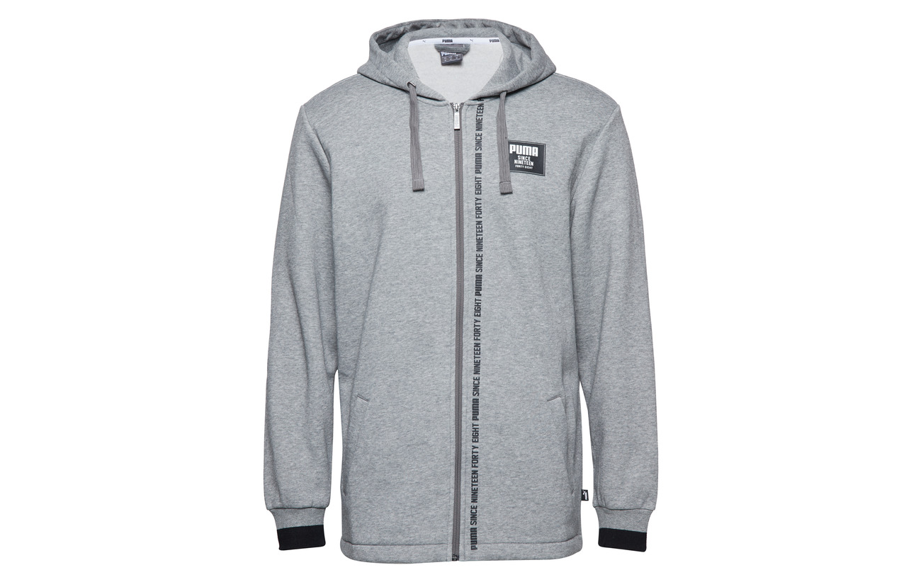 Gray Fz Hoody Block Heather Rebel Medium Fl Puma wY48pqW