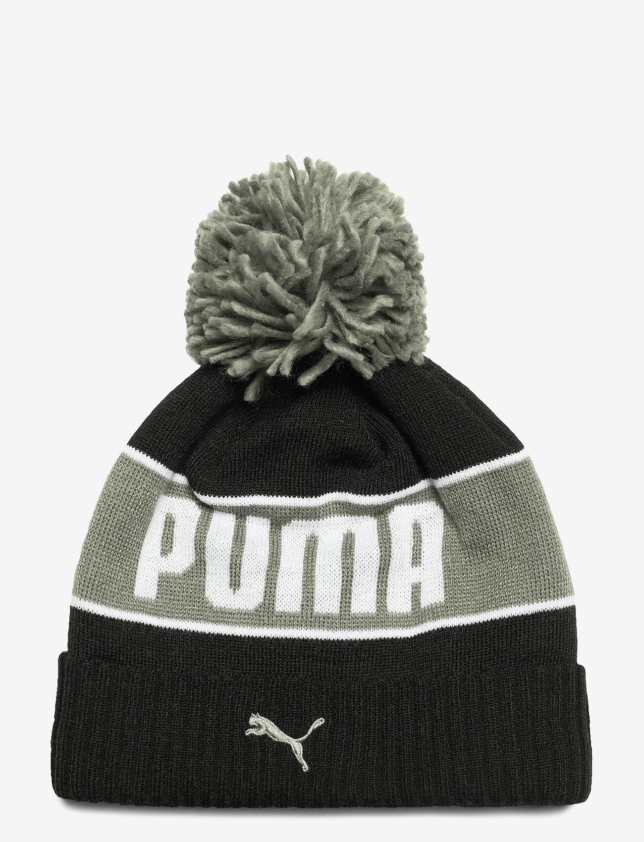 PUMA - PUMA POM Beanie - puma black-ultra gray - 0
