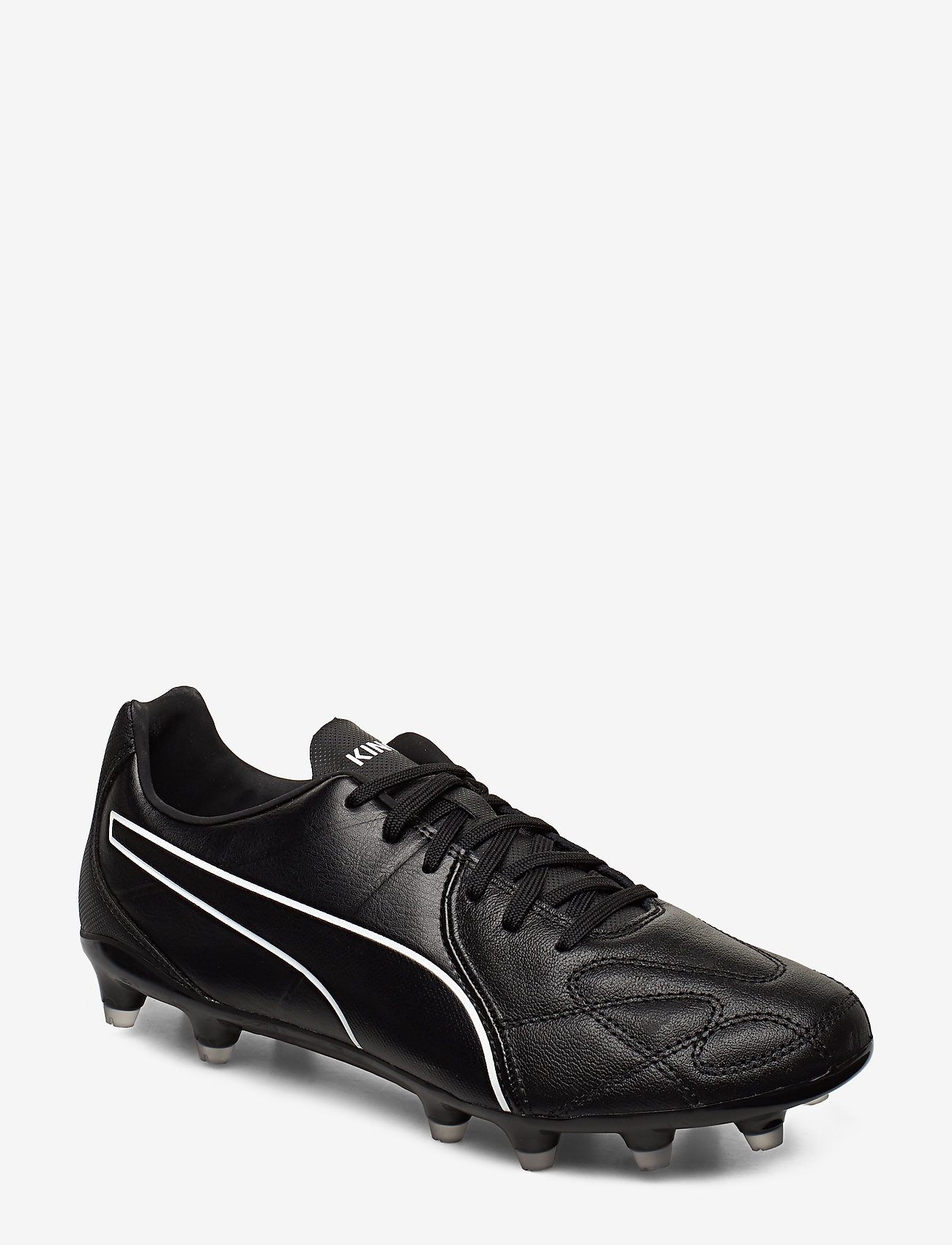 PUMA - KING Hero FG - fotbollsskor - puma black-puma white - 0