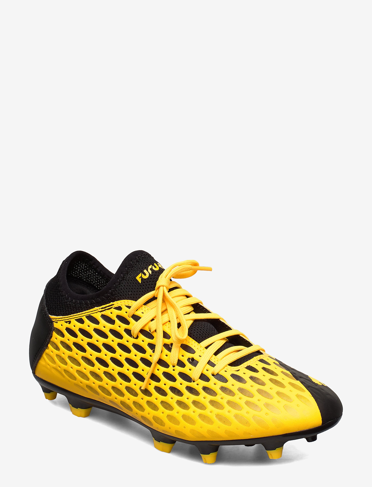 PUMA - FUTURE 5.4 FG/AG - jalkapallokengät - ultra yellow-puma black - 0