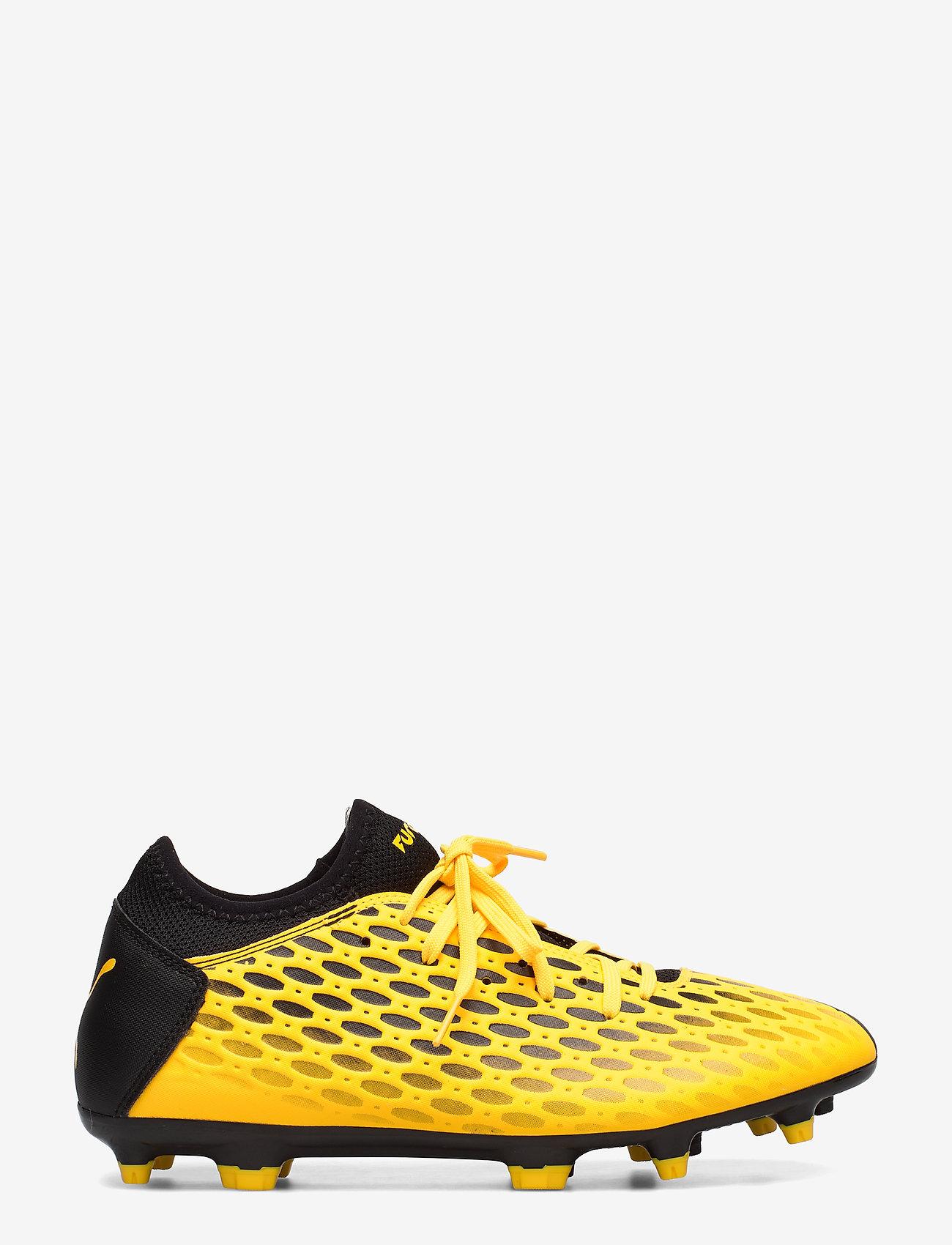 PUMA - FUTURE 5.4 FG/AG - jalkapallokengät - ultra yellow-puma black - 1