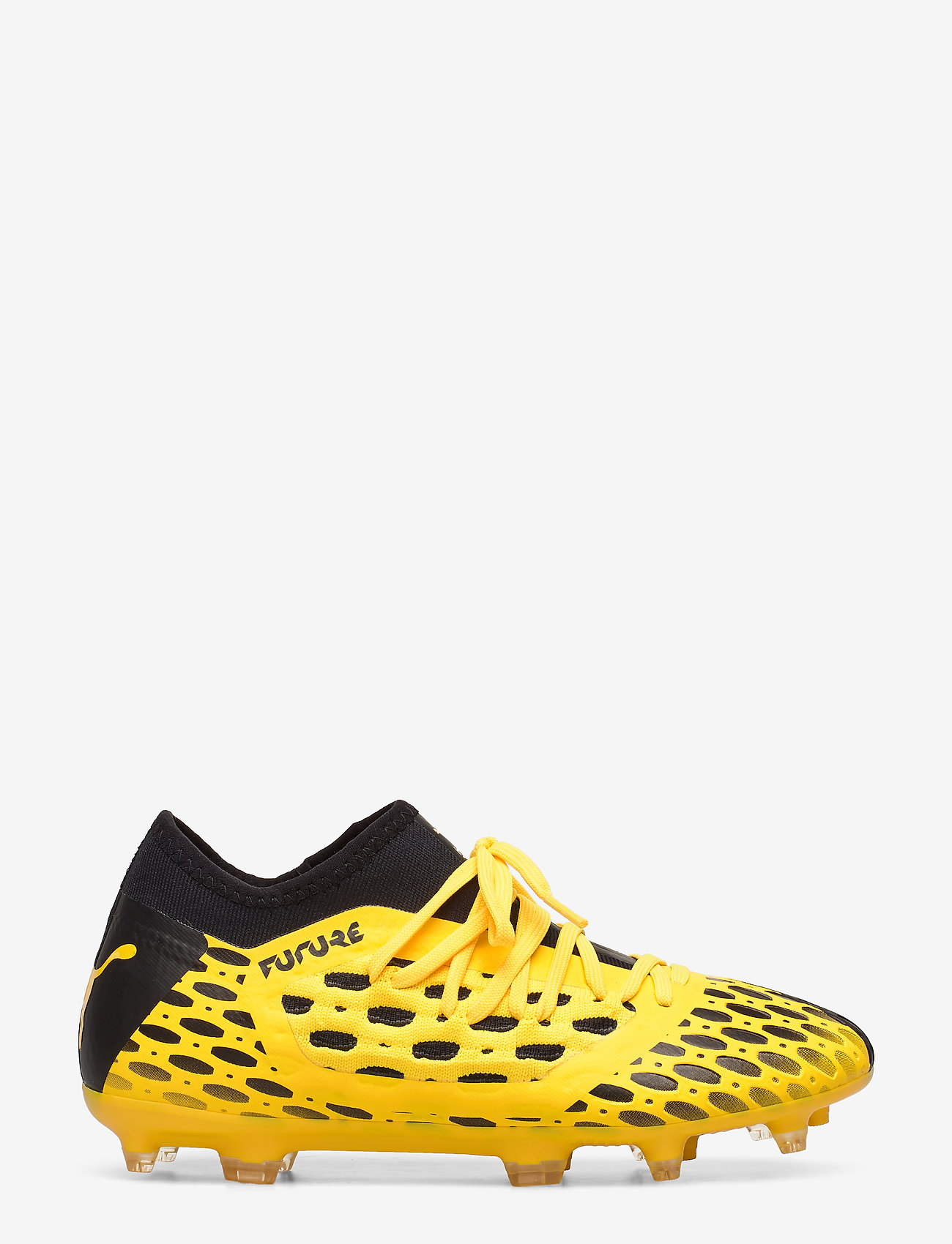 PUMA - FUTURE 5.3 NETFIT FG/AG Jr - buty sportowe - ultra yellow-puma black - 1