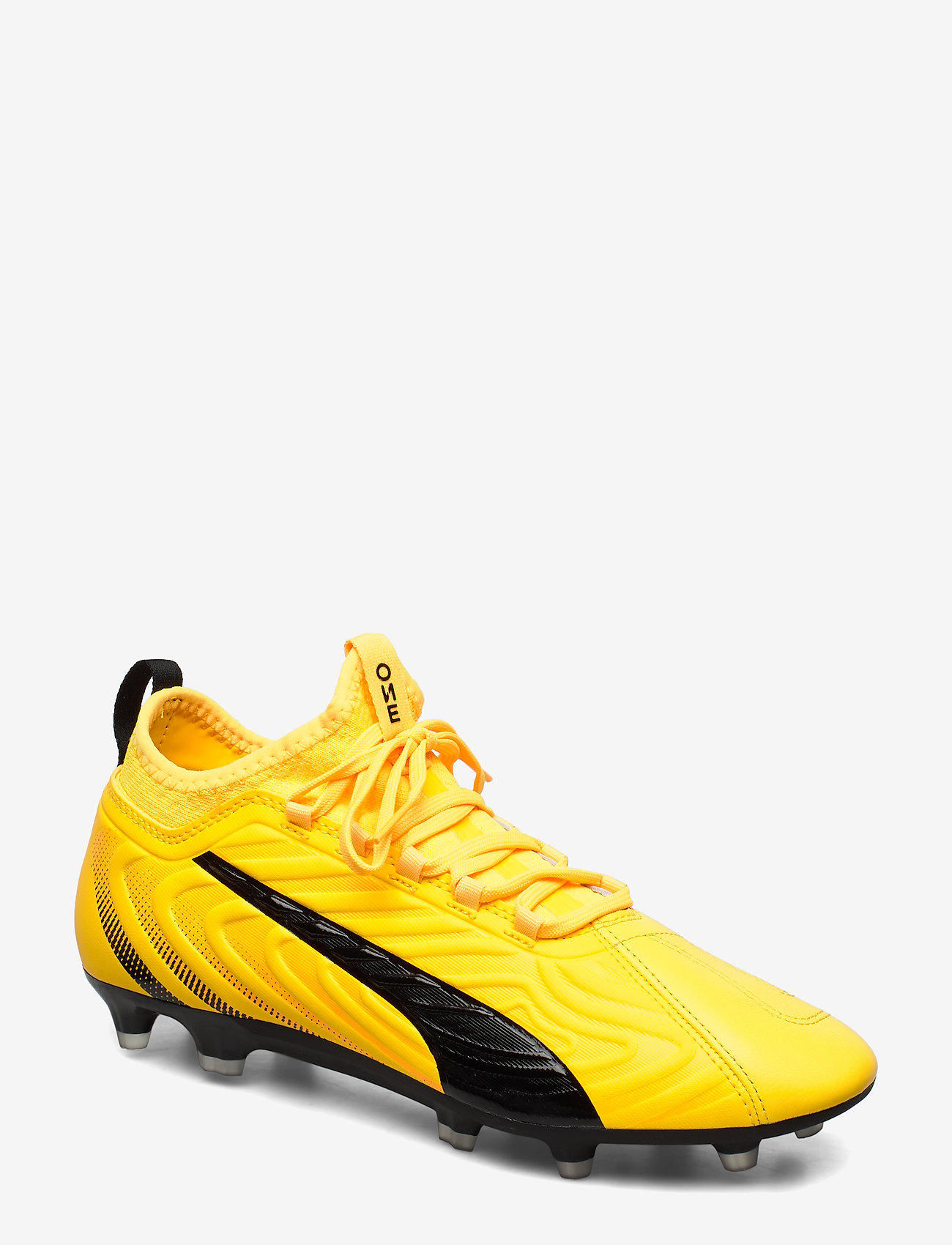 PUMA - PUMA ONE 20.3 FG/AG - jalkapallokengät - ultra yellow-puma black-orange aler - 0