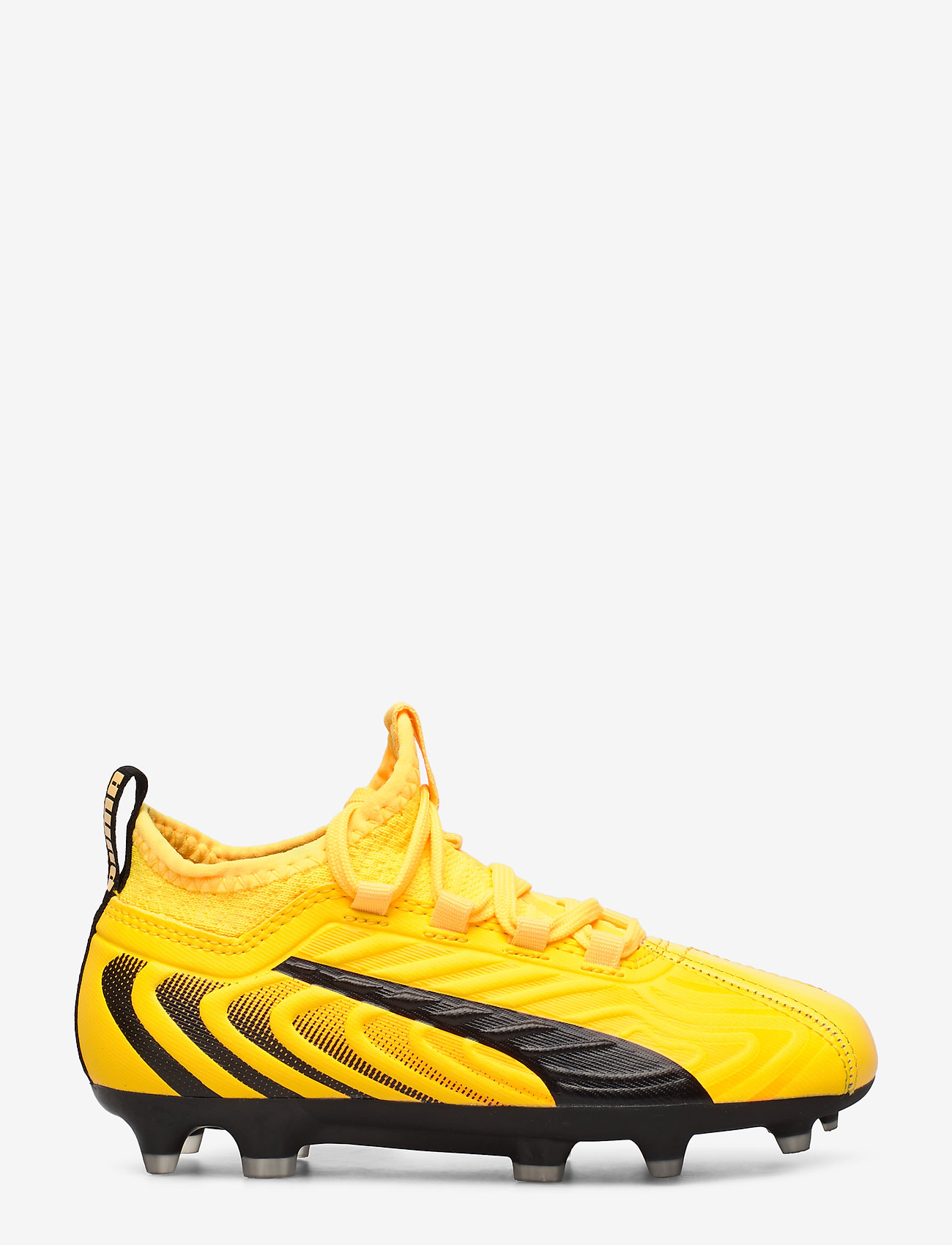 PUMA - PUMA ONE 20.3 FG/AG Jr - sportschuhe - ultra yellow-puma black-orange aler - 1