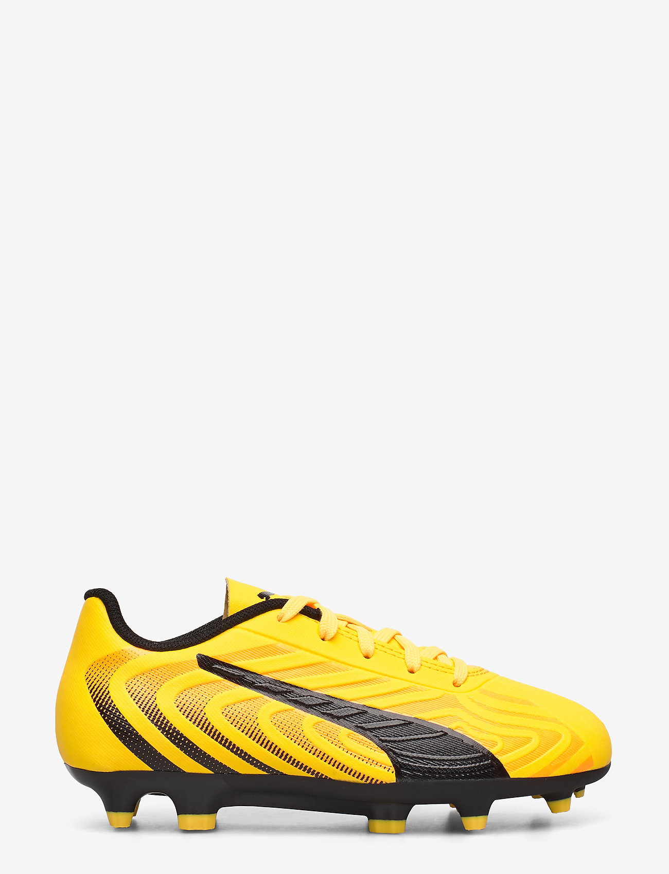 PUMA - PUMA ONE 20.4 FG/AG Jr - buty sportowe - ultra yellow-puma black-orange aler - 1