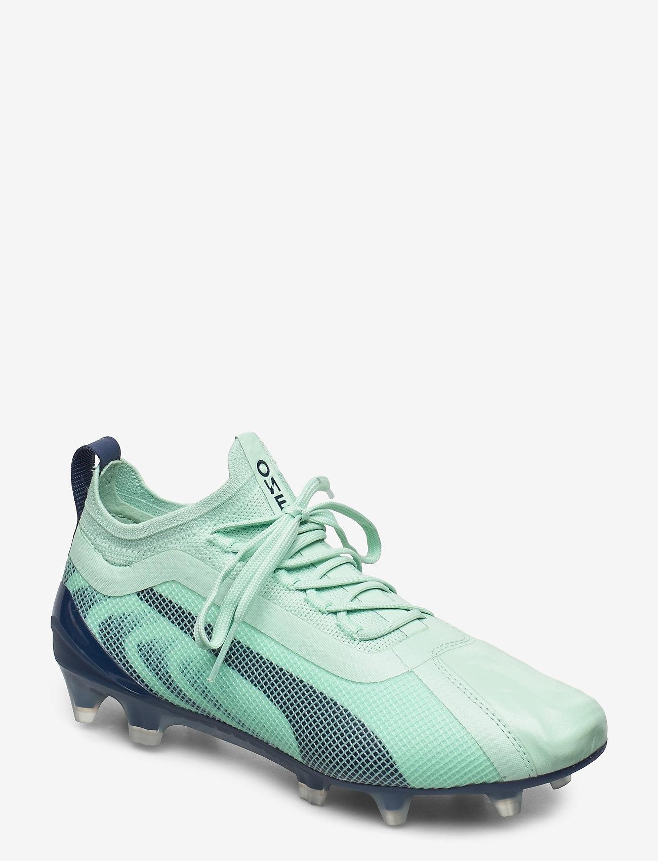 PUMA - PUMA ONE 20.1 Wms  FG/AG - fotbollsskor - mist green-high rise-dark denim - 0