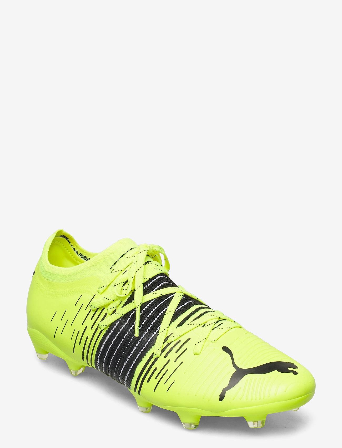 PUMA - FUTURE Z 2.1 FG/AG - fodboldsko - yellow alert-puma black-puma white - 0