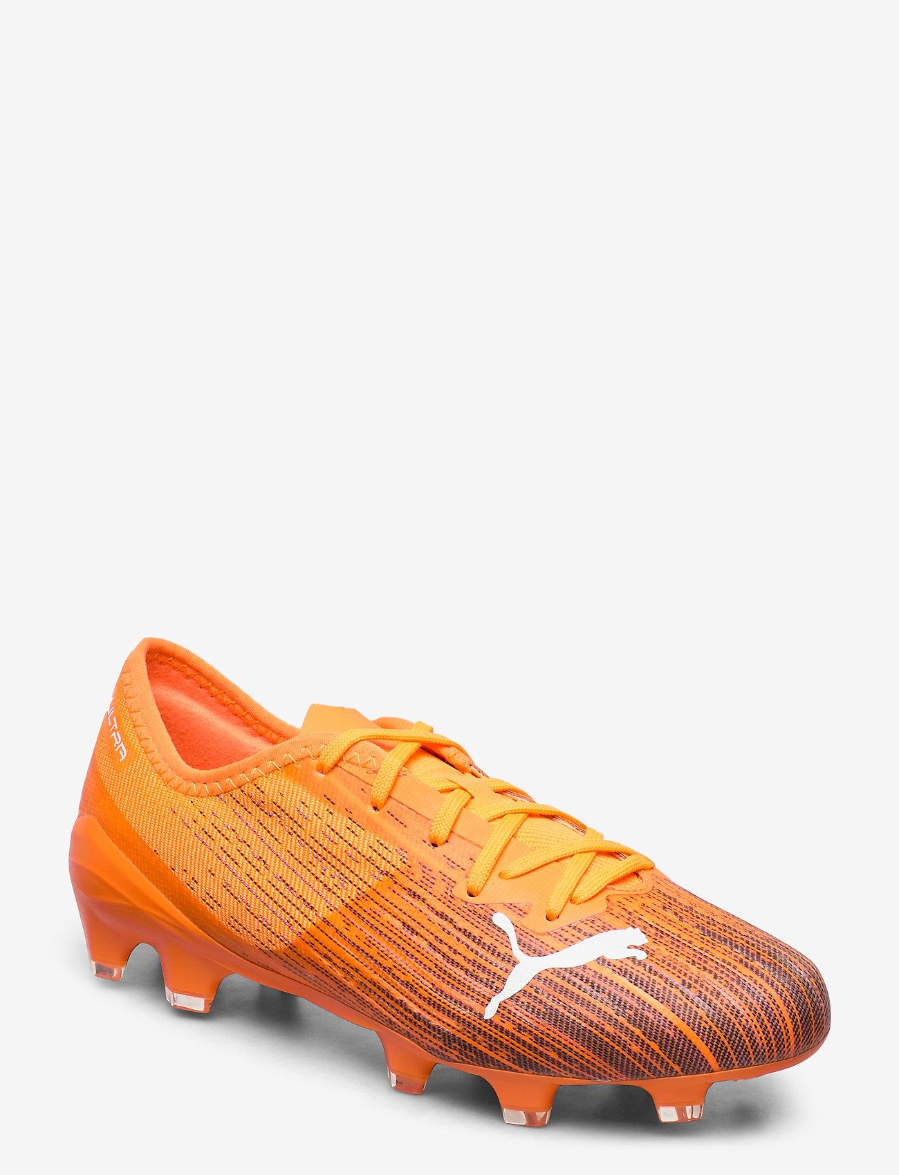 PUMA - ULTRA 2.1 FG/AG - fodboldsko - shocking orange-puma black - 0