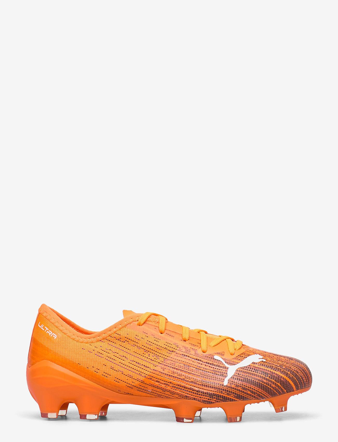 PUMA - ULTRA 2.1 FG/AG - fodboldsko - shocking orange-puma black - 1