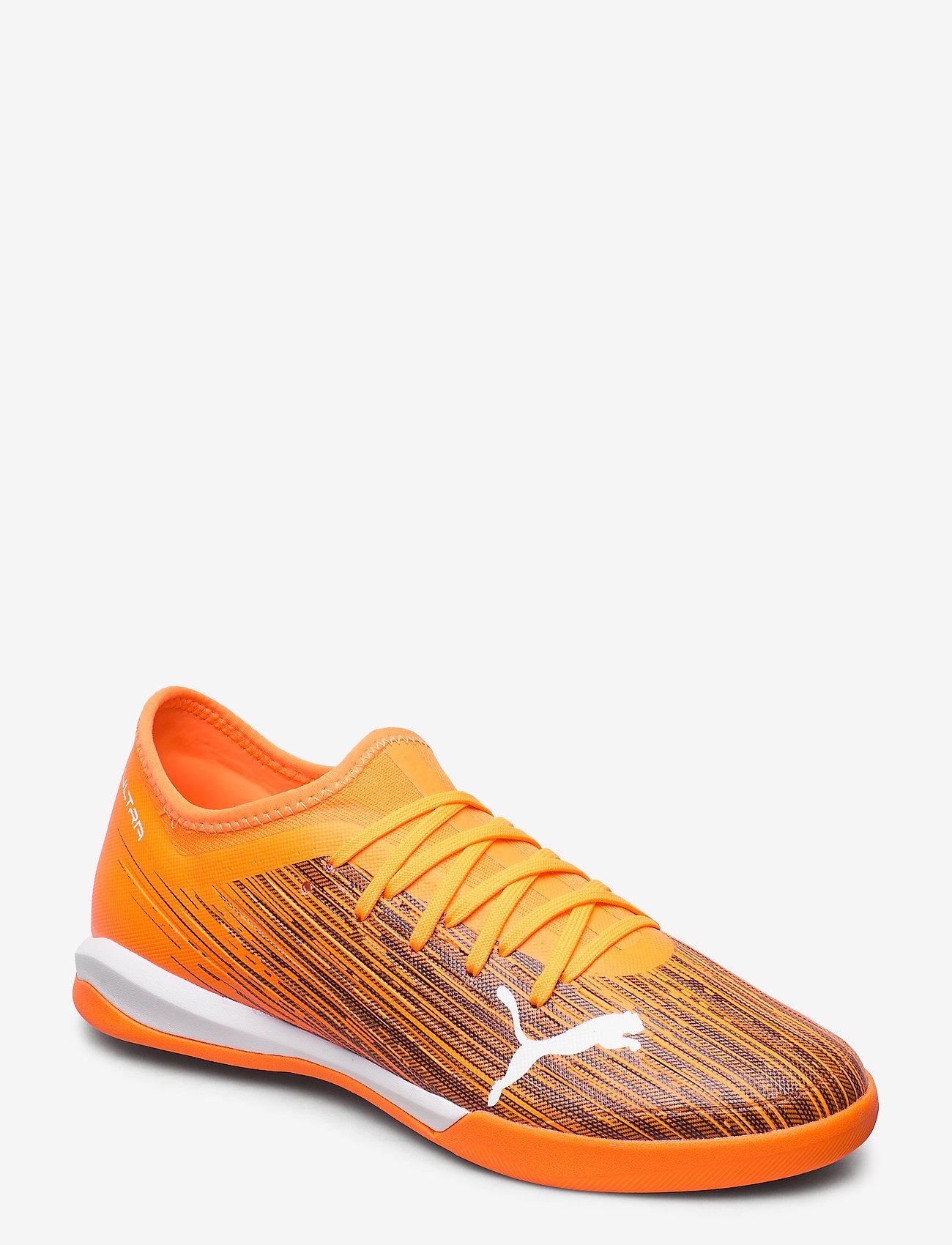 PUMA - ULTRA 3.1 IT - fodboldsko - shocking orange-puma black - 0