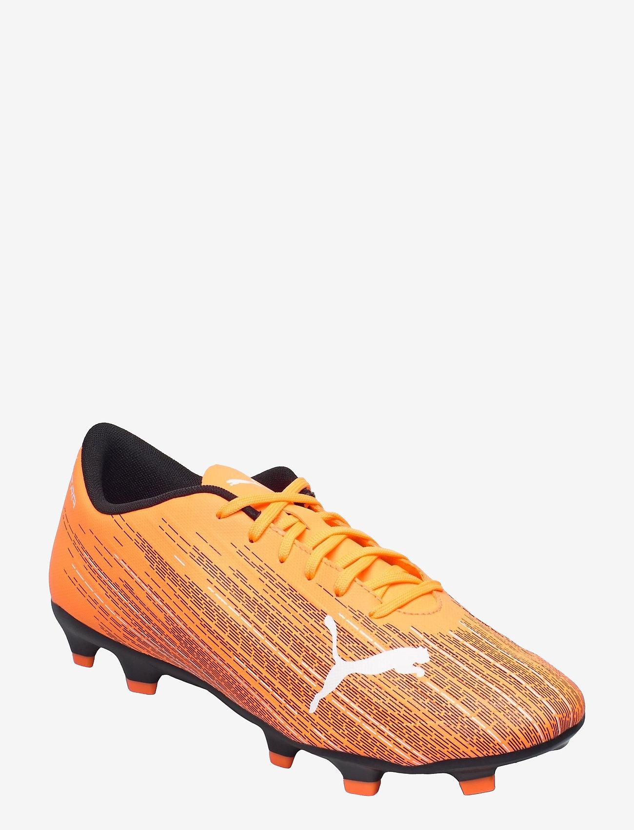 PUMA - ULTRA 4.1 FG/AG - fodboldsko - shocking orange-puma black - 0