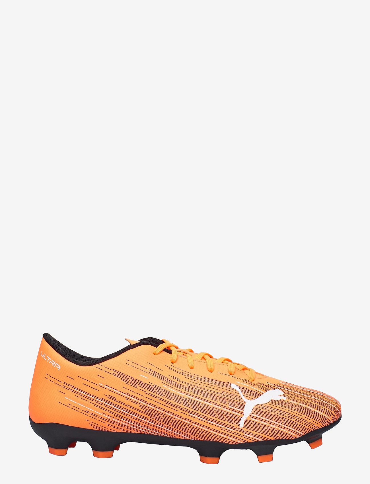 PUMA - ULTRA 4.1 FG/AG - fodboldsko - shocking orange-puma black - 1