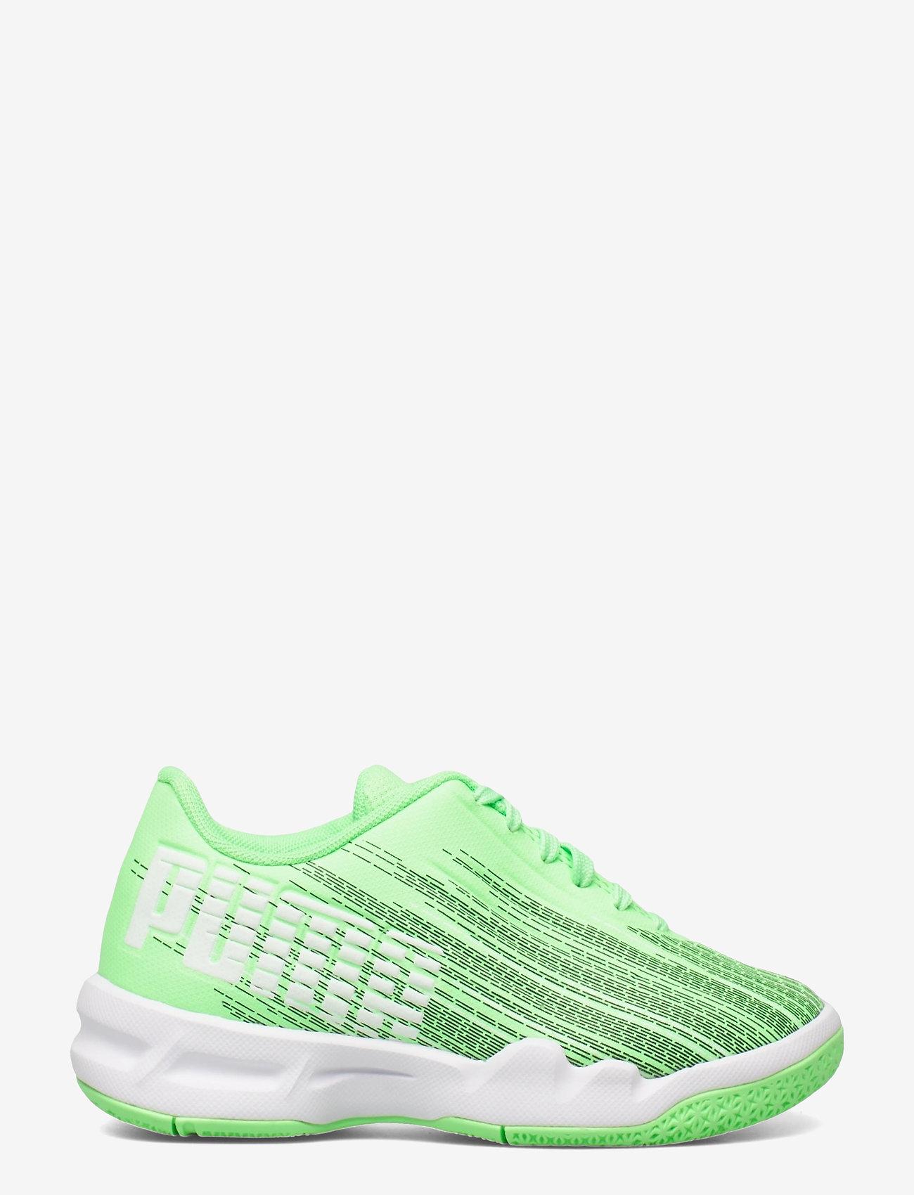 PUMA - Adrenalite 4.1 Jr - träningsskor - elektro green-puma white - 1