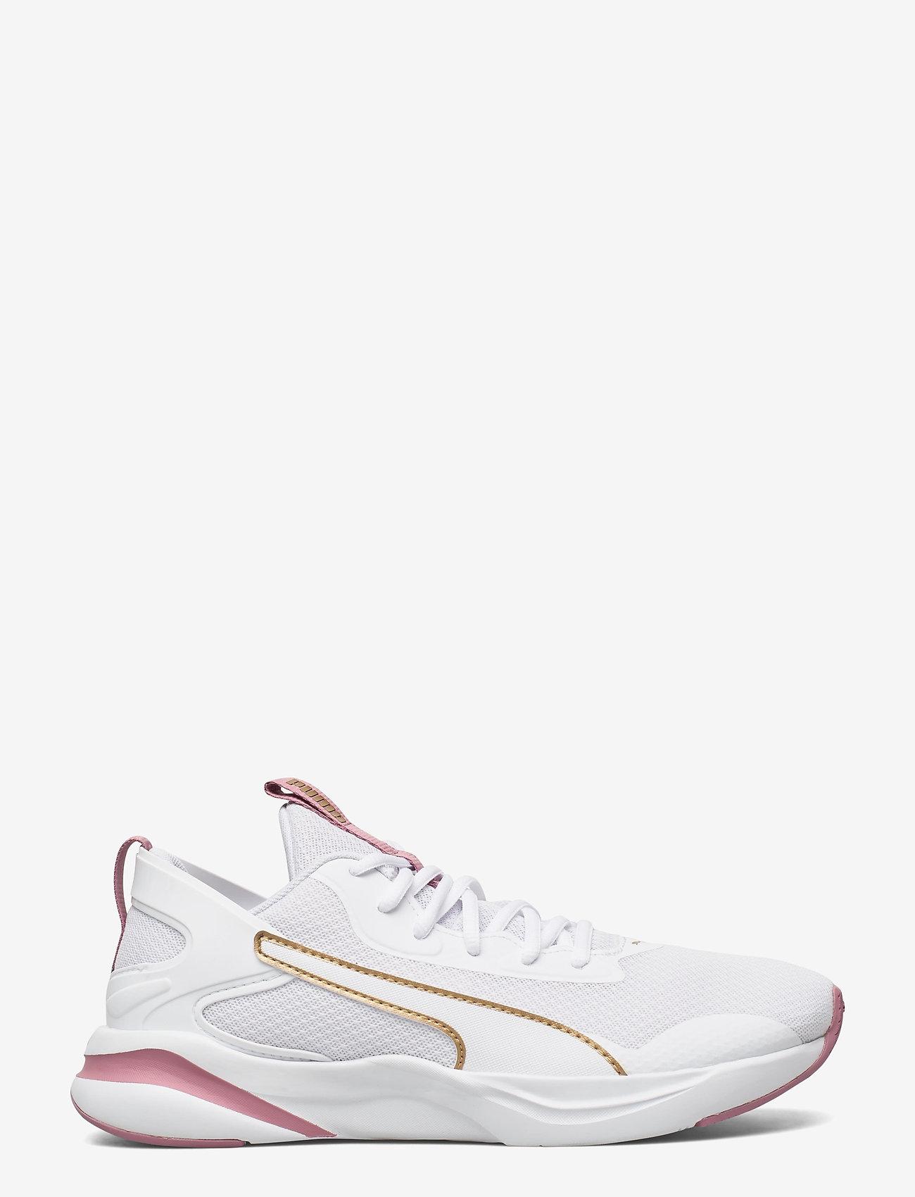 PUMA - SOFTRIDE RIFT Wn's - lage sneakers - puma white-foxglove - 1