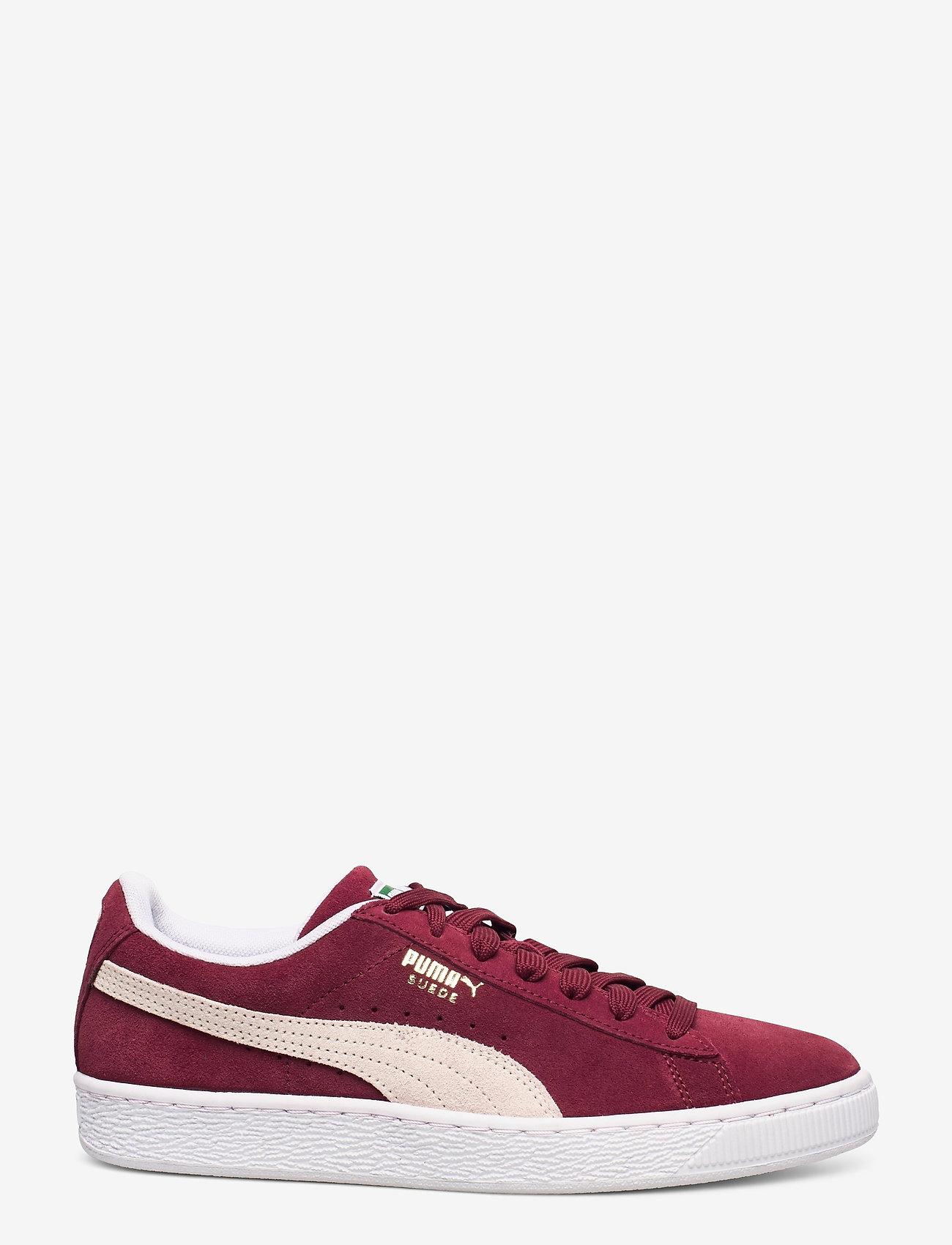 PUMA - Suede Classic+ - låga sneakers - cabernet-white - 1