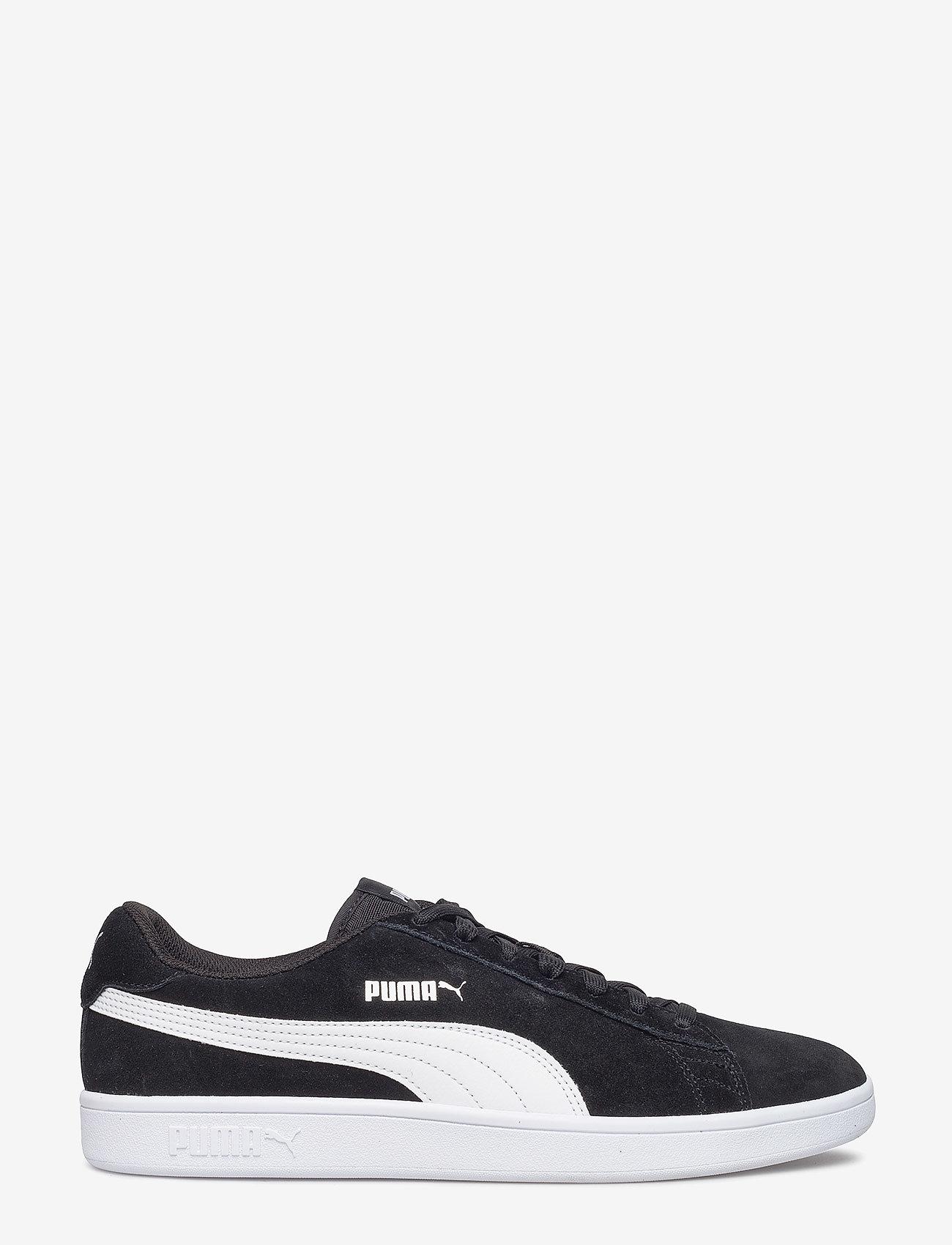 PUMA - Puma Smash v2 - matalavartiset tennarit - puma black-puma white-puma silver